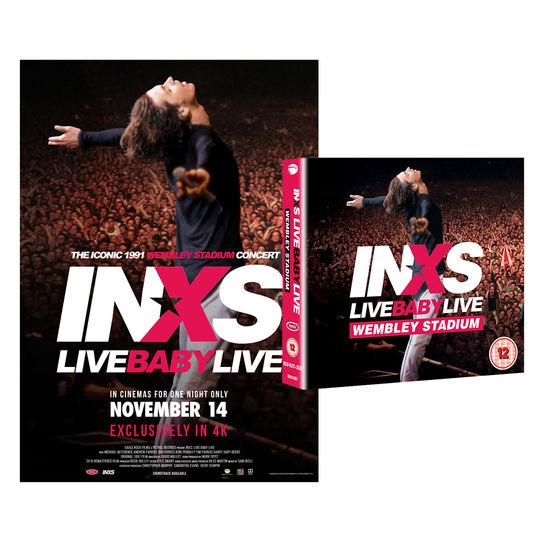 INXS: Live Baby Live: Blu-Ray + 2CD Bundle + Print Bundle