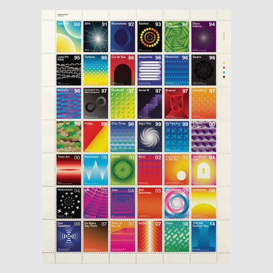 Dorothy: Stamp Albums: Post-Rock Litho Print Poster