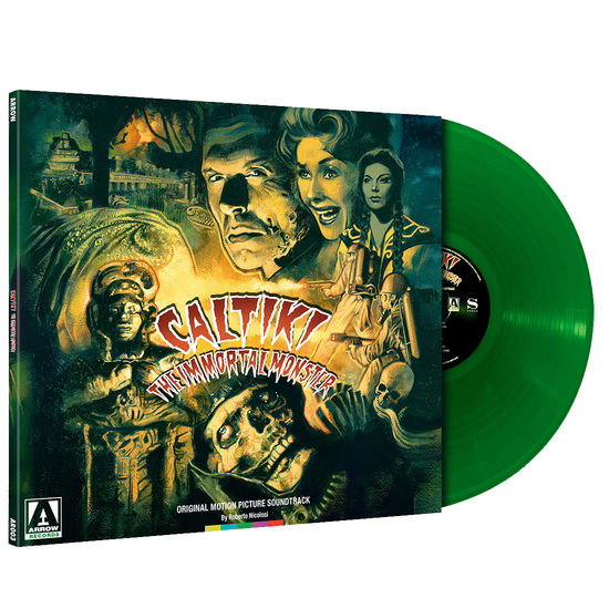 Original Soundtrack: Caltiki The Immortal Monster: Green Vinyl
