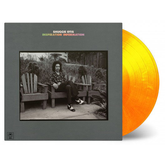 Shuggie Otis: Inspiration Information: Limited Edition Flaming Orange Vinyl