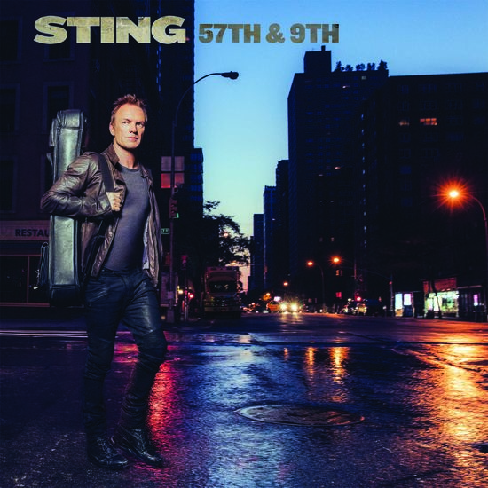 Sting: 57th & 9th Black LP