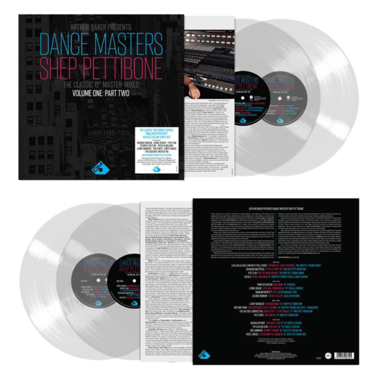 Various Artists: Arthur Baker Presents Dance Masters - The Shep Pettibone Master-Mixes - Vol One Part Two - Clear Vinyl 2LP