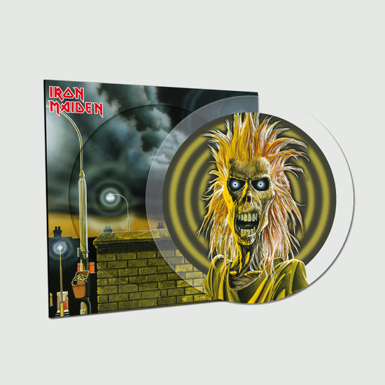 Iron Maiden: Iron Maiden: 40th Anniversary Limited Edition Crystal Clear Picture Disc Vinyl