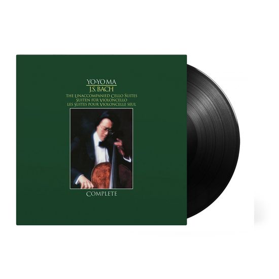 Yo-Yo Ma: Bach Unaccompanied Cello Suites: Limited Edition Triple Vinyl