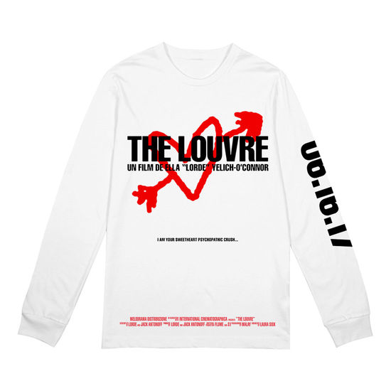 Lorde: The Louvre WHT LS - XXL