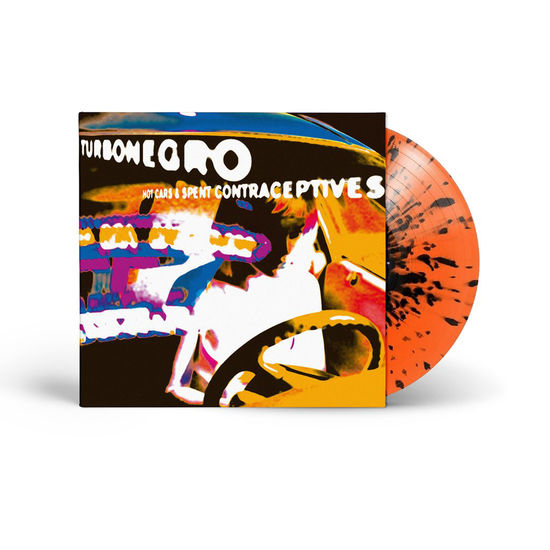 Turbonegro: Hot Cars and Spent Contraceptives: Limited Edition Orange & Black Splatter Vinyl