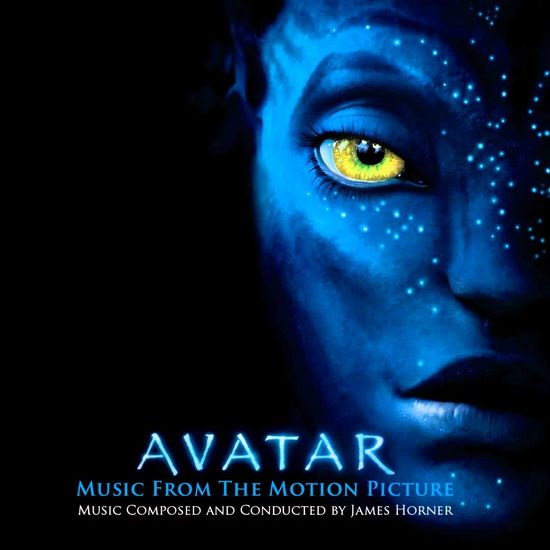 James Horner: Avatar Original Soundtrack: Blue Vinyl