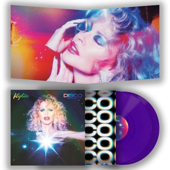 Kylie Minogue: DISCO (Extended Mixes): Limited Edition Gatefold Purple Vinyl