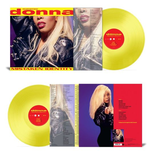 Donna Summer: Mistaken Identity: Limited Edition 180gm Yellow Vinyl LP