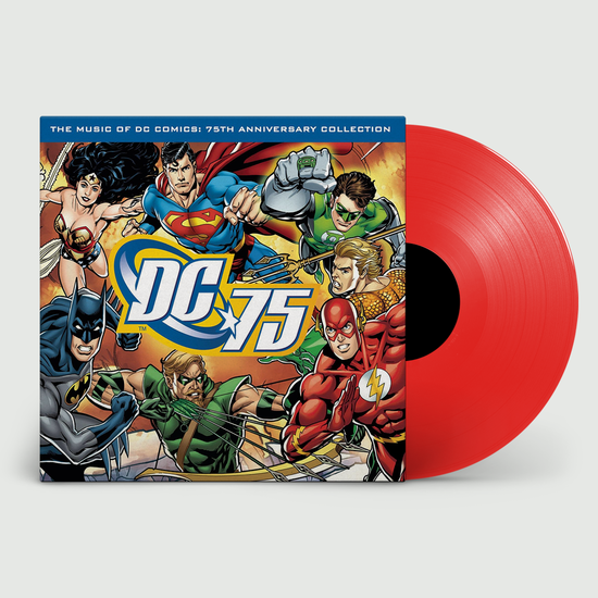 Original Soundtrack: Music of DC Comics: Limited 75th Anniversary Edition Red Vinyl