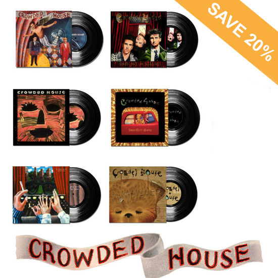 Crowded House: Crowded House LP Bundle