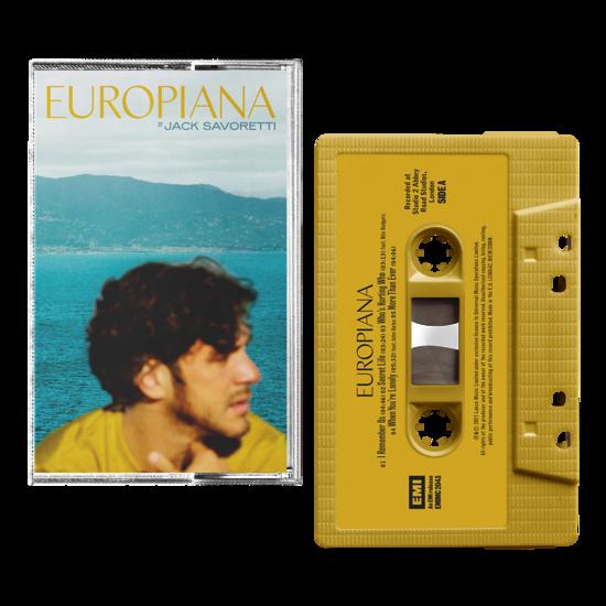 Jack Savoretti: Europiana: Signed Cassette