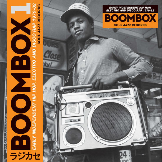 Various Artists: Boombox 1: Early Independent Hip Hop, Electro And Disco Rap 1979-82