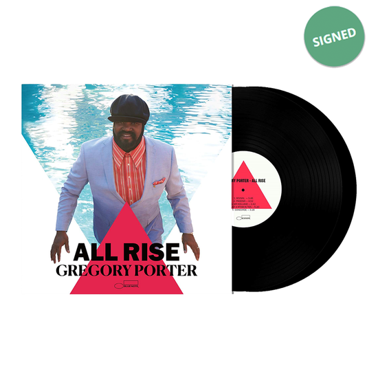 Gregory Porter: Signed All Rise Double Vinyl