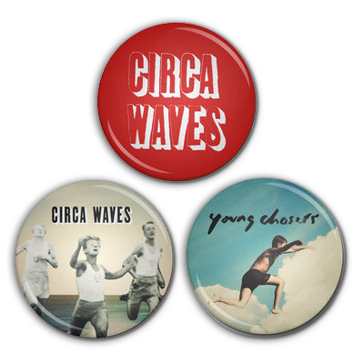 Circa Waves: Young Chasers Badge Set