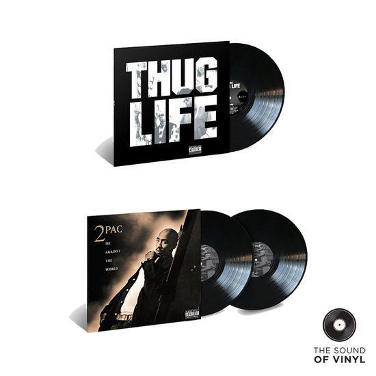2Pac: The Sound Of... 2Pac & Thug Life: Deluxe Vinyl Exclusive Bundle