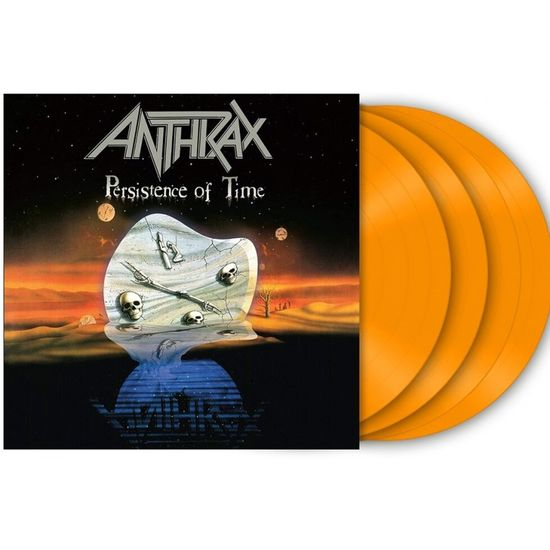 Anthrax: Persistence of Time: Limited 30th Anniversary Edition Orange Vinyl 4LP