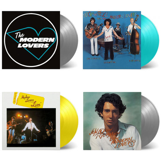 The Modern Lovers: The Sound Of The Modern Lovers: Rock N Roll, Live & Back In Your Life Limited Edition Colour Vinyl Bundle