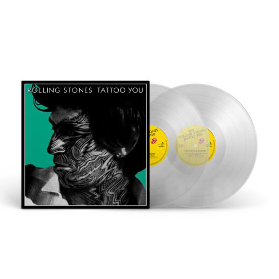 The Rolling Stones: Tattoo You (40th Anniversary Remastered Deluxe 2LP Store Exclusive Clear Vinyl)