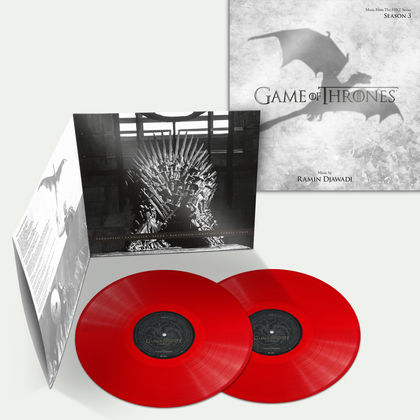 Ramin Djawadi: Game of Thrones Season 3: Red Vinyl