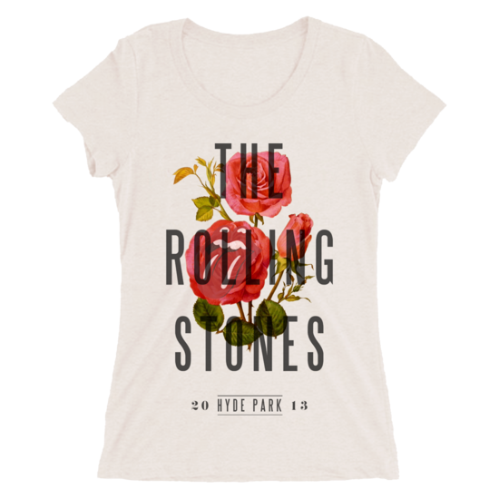 The Rolling Stones: Hyde Park 2013 Ladies Fit T-shirt