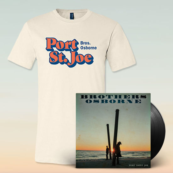 Brothers Osborne: Port Saint Joe Vinyl & T-Shirt Bundle