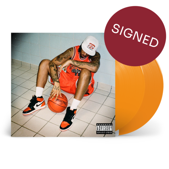 AJ Tracey: Flu Game: *SIGNED* Limited Edition Orange Vinyl 2LP