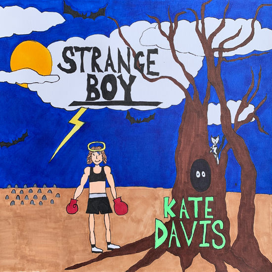 Kate Davis: Strange Boy (Daniel Johnston Retired Boxer Cover Album): Deep Blue Vinyl