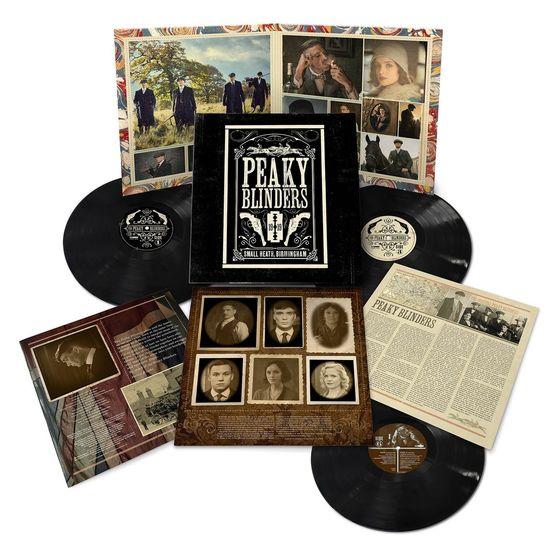 Various Artists: Peaky Blinders OST Series 1-5: Triple Vinyl & Exclusive Poster