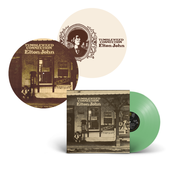 Elton John: Tumbleweed Connection: Exclusive Green Vinyl + Reversible Slipmat