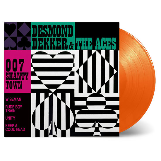 Desmond Dekker & The Aces: 007 Shanty Town: Orange Vinyl