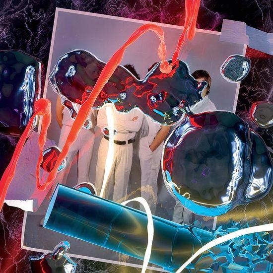 The Zephyr Bones: Neon Body: Neon Yellow Vinyl LP