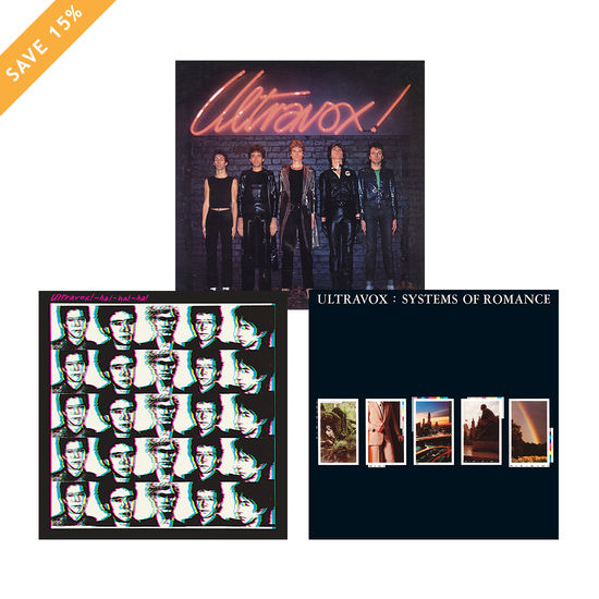Ultravox: 40th Anniversary Coloured Vinyl Bundle - Save 15%