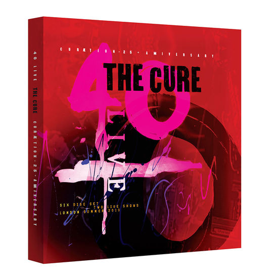 The Cure: 40 LIVE - CURÆTION-25 + ANNIVERSARY: Limited Deluxe 2DVD + 4CD Box