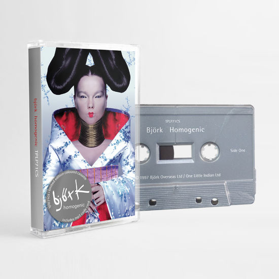 Björk: Homogenic: Limited Edition Silver Cassette