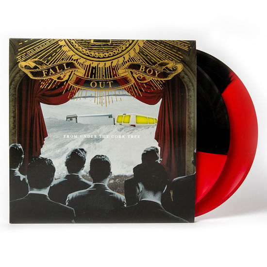 Fall Out Boy: From Under The Cork Tree: Exclusive - Red & Black Split Double Vinyl