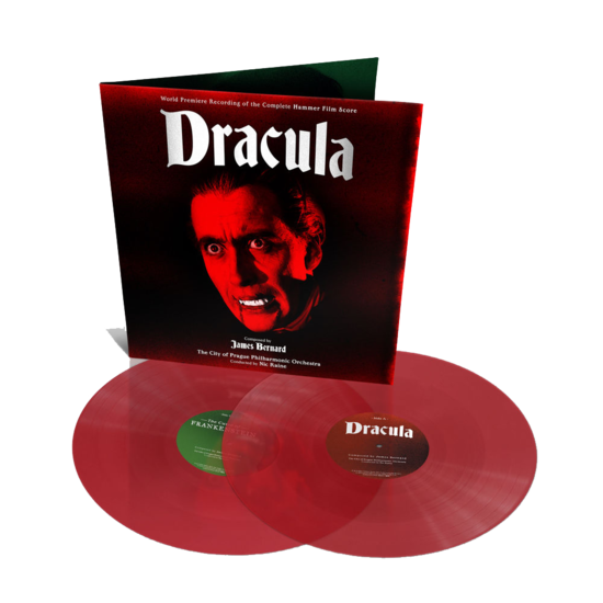 Original Soundtrack: Dracula / The Curse of Frankenstein: Limited Edition Red Vinyl