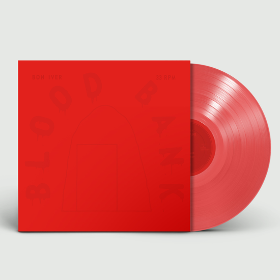 Bon Iver: Blood Bank EP: 10th Anniversary Edition Red Vinyl