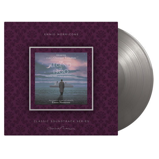 Ennio Morricone: The Legend of 1900: Limited Edition Silver Vinyl