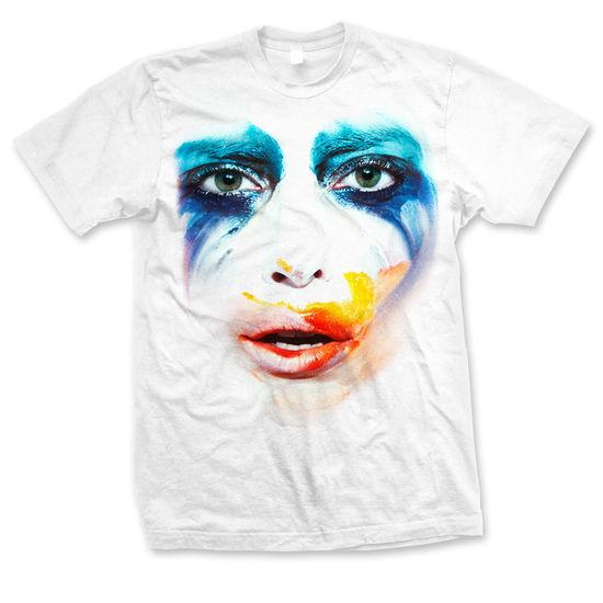 Lady Gaga: White Mens Applause T-Shirt