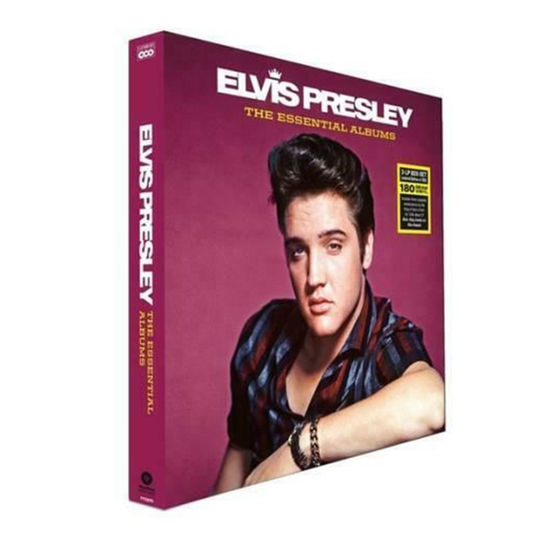 Elvis Presley: The Essential Albums: Deluxe Triple LP Box Set