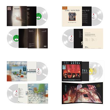 The Sound: The Sound Of... The Sound: Four Album Colour Vinyl Bundle