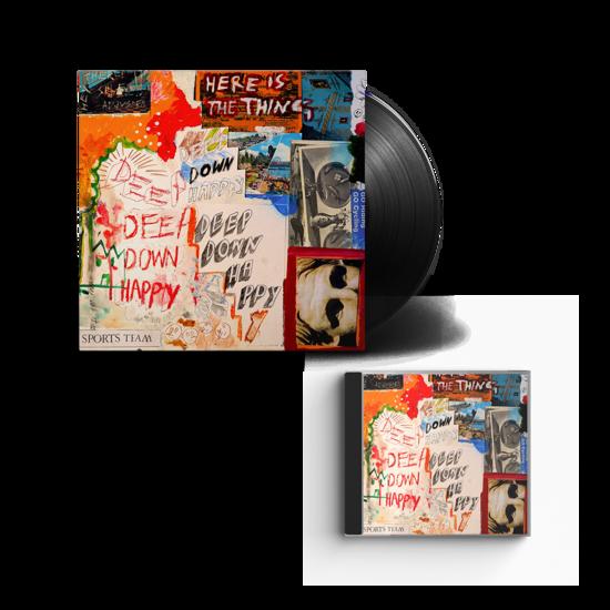 Sports Team: Deep Down Happy: Vinyl + CD