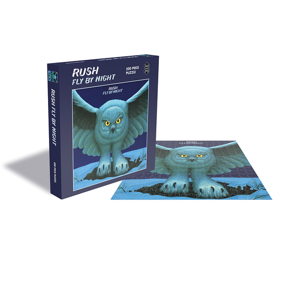 Rush: Fly By Night (500 Piece Jigsaw Puzzle)