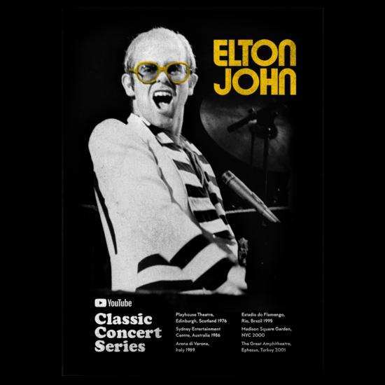 Elton John: Classic Concert Series Poster