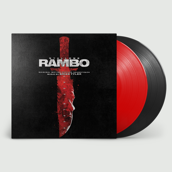 Original Soundtrack: Rambo: Last Blood: Limited Edition Red & Black Vinyl