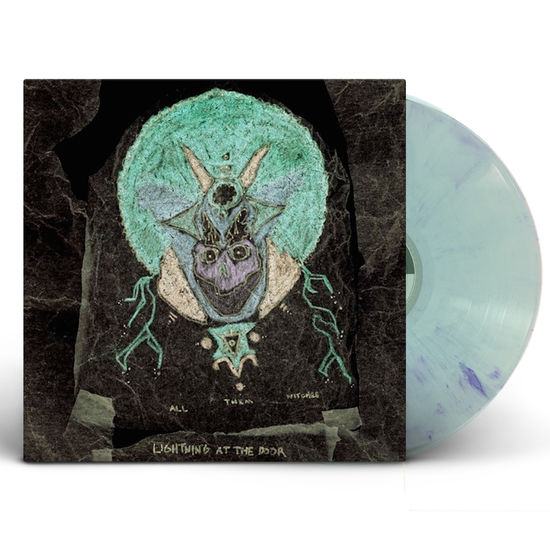 All Them Witches: Lightning At The Door: Lavender and Metallic Swirl Vinyl LP