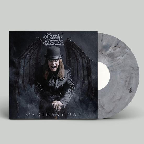 Ozzy Osbourne: Ordinary Man: Limited Edition Black, White + Grey Marble Vinyl