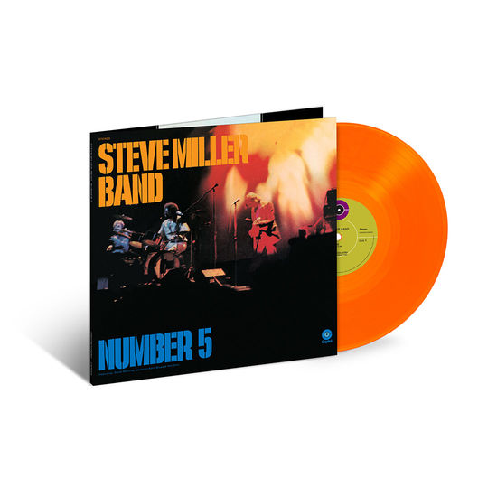 Steve Miller Band: Number 5: Exclusive Orange Vinyl