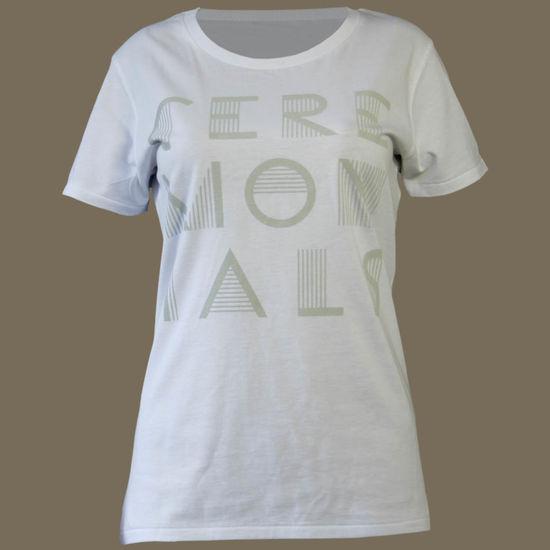 Florence + The Machine: Ceremonials Logo Ladies Skinny T-shirt - Large